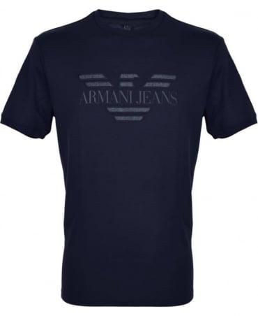 Armani Jeans Navy Crew Neck T-Shirt