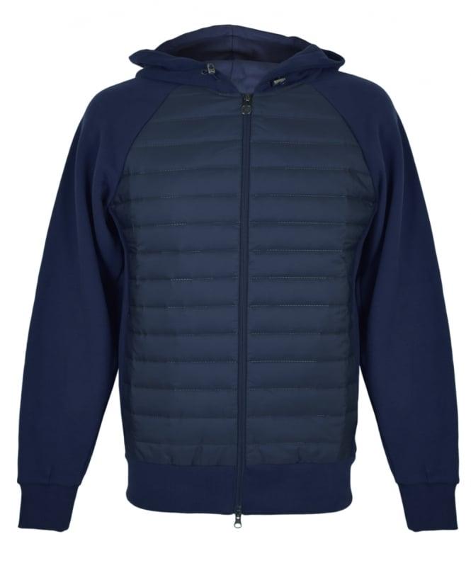 Colmar Originals Navy Cybernetic Bubble Hooded Sweatshirt