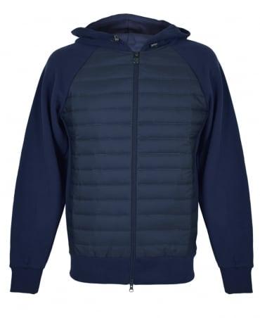 Colmar Originals Navy Cybernetic Bubble Hooded Sweatshirt
