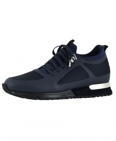 Navy Diver Contrast Shoes