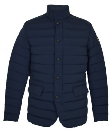 Colmar Originals Navy Down Padded Button Up Jacket