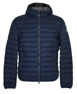 Colmar Originals Navy Down Padded Hooded Jacket