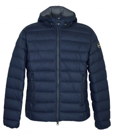 Colmar Originals Navy Down Padded Removable Hooded Empire Jacket
