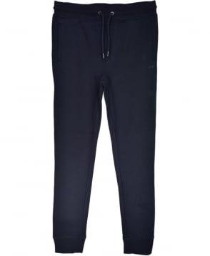 Armani Jeans Navy Drawstring Tracksuit Bottoms