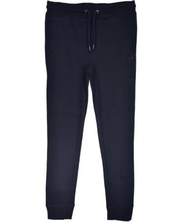 Navy Drawstring Tracksuit Bottoms
