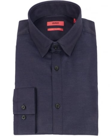 Navy Eggelton Slim Fit Shirt
