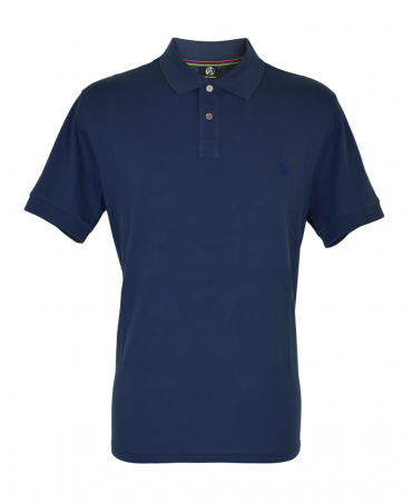 7cff6f17a Navy Embroidered 'Zebra' Polo Shirt · PS Paul Smith ...