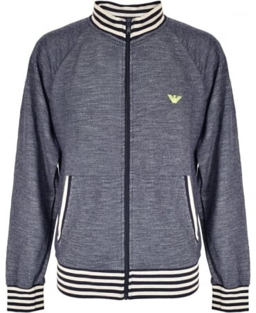 Navy Full Zip 7P572 Sweatshirt