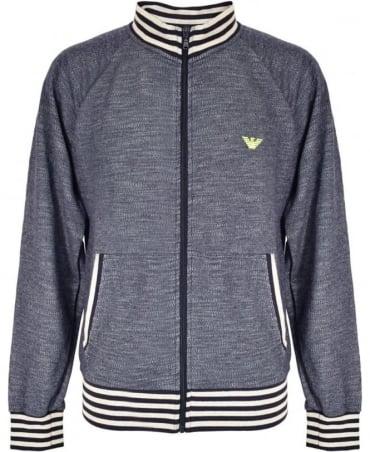 Emporio Armani  Navy Full Zip 7P572 Sweatshirt