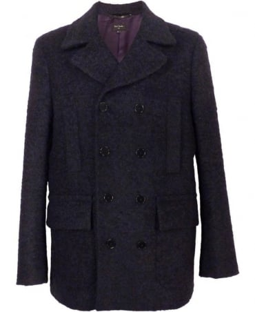 Paul Smith - PS Navy Gents Car Double Breasted Coat