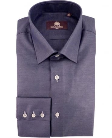 Circle of Gentlemen Navy Guzman Pattern 06753 Shirt