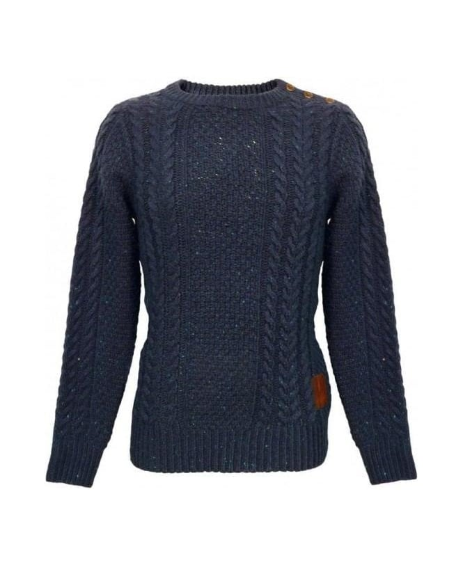 Scotch & Soda Navy Heavy Weight Knit 13040860022