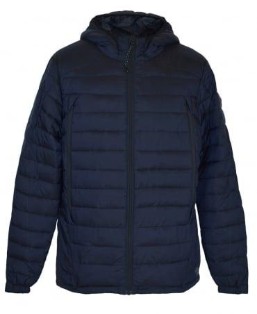 Scotch & Soda Navy Hooded 139208 Puffer Jacket