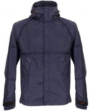 Replay Navy Hooded Full Zip Blouson