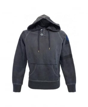 Armani Jeans Navy Hooded Sweatshirt U6M80NK