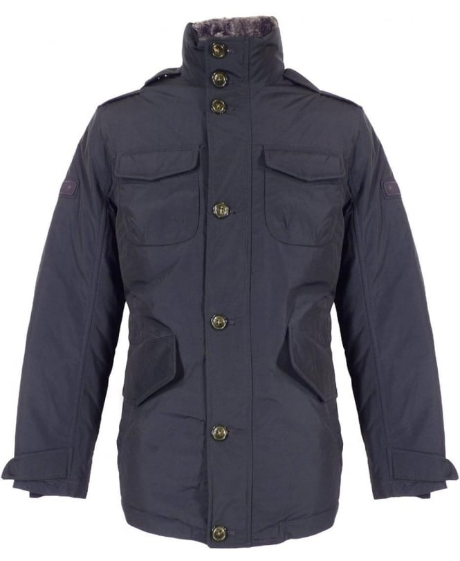 Woolrich Navy Hudson Field Jacket