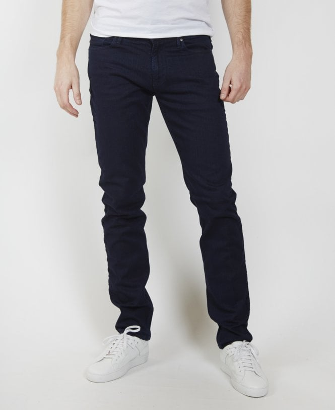 bda3dffa2813 Emporio Armani Navy J06 Slim Fit Jeans - Jeans from Jonathan Trumbull UK