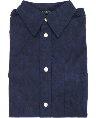 Paul Smith - Jeans Navy JMPJ/046P/934 Oddities Print Shirt