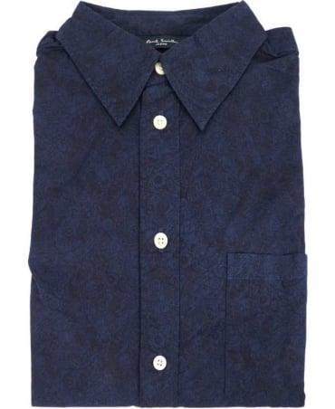 Paul Smith - Jeans Navy JMPJ/046P/934 Oddities Print Shirt