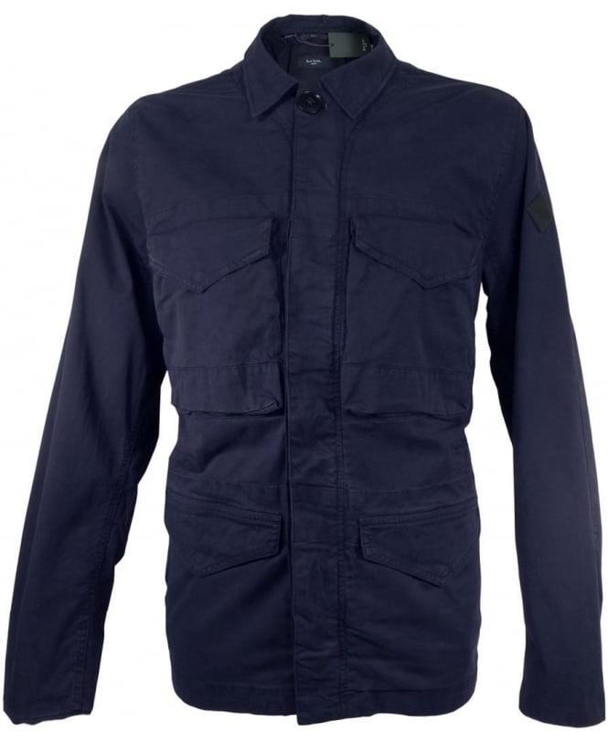 Paul Smith Navy JNFJ 245P B13 Four Pocket Field Jacket