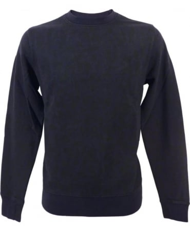 Paul Smith - Jeans Navy JPFJ-597P-D55 Allover Print Sweatshirt