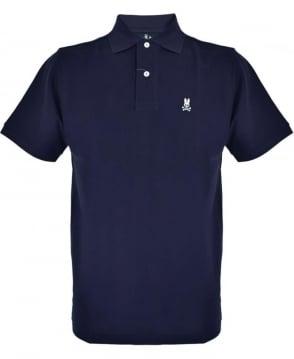 Psycho Bunny Navy KR0001 Polo Shirt