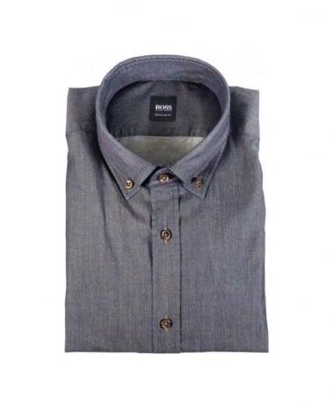 Hugo Boss Navy Leonardo Shirt