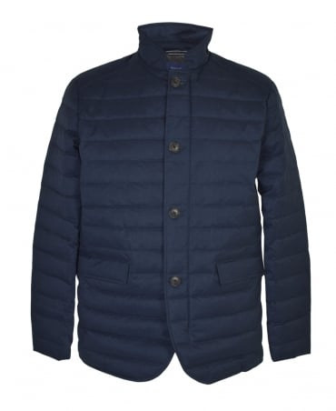 Gant Navy Lightweight Metropolis Down Jacket