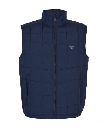Gant Navy Lightweight 'The LW Cloud' Gilet