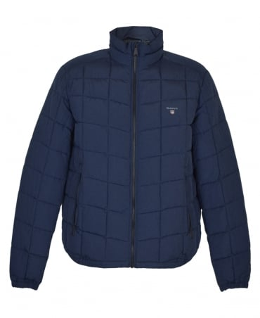 Gant Navy Lightweight 'The LW Cloud' Jacket