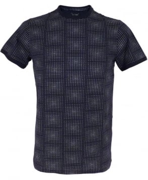 Armani Jeans Navy Logo Design C6H92JL T/Shirt