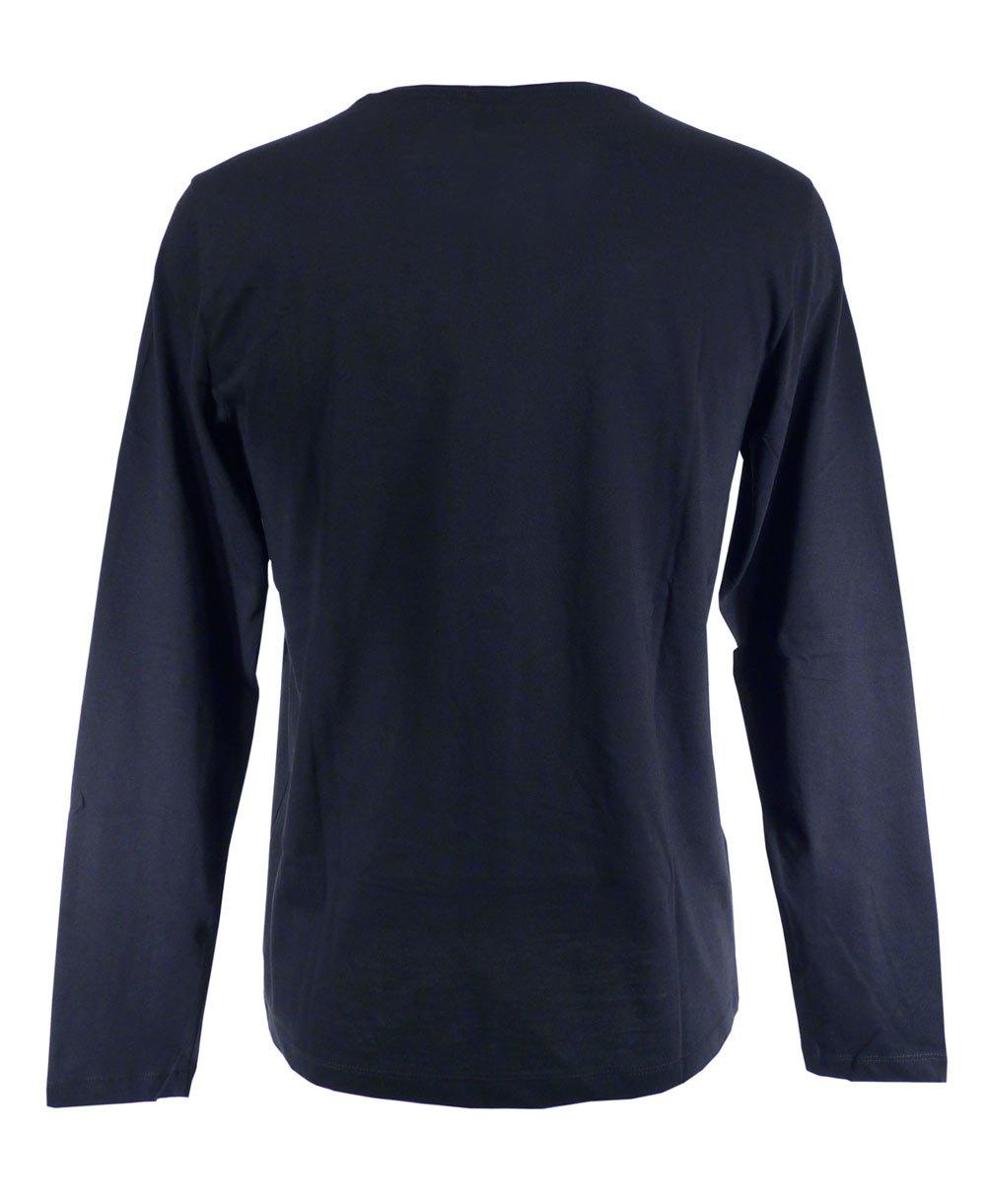 Hugo boss navy long sleeved leo 80 t shirt hugo boss for Hugo boss navy shirt