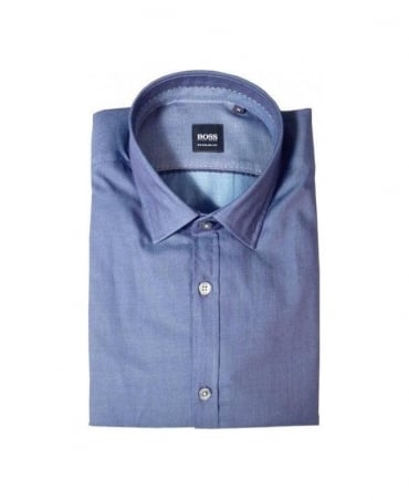 Hugo Boss Navy Lorenzo Regular Fit Shirt