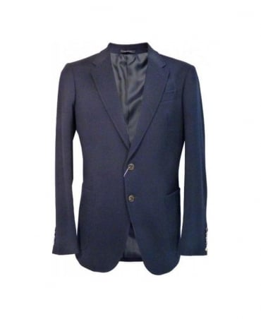 Armani Navy MCF02 Regular Fit Jacket
