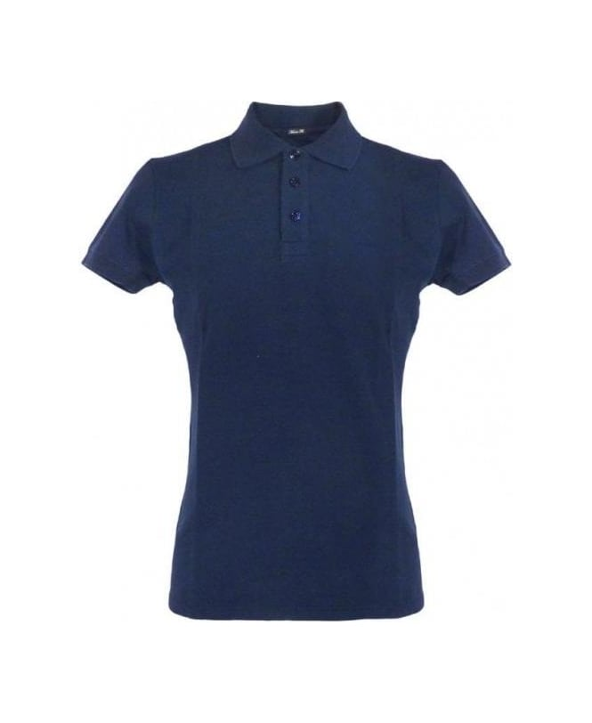 Armani Navy Muscle Fit Polo