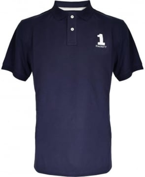 Hackett Navy New Classic Polo Shirt