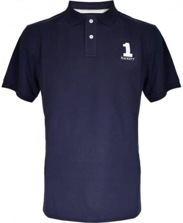 Hackett Navy New Classic Polo Shirt