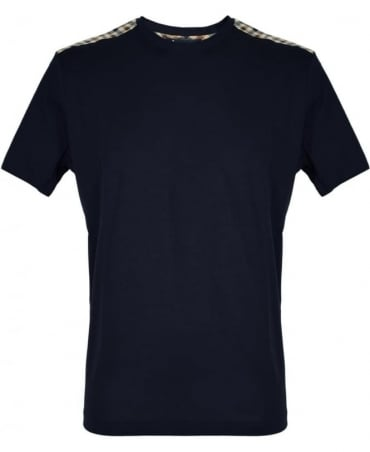 Aquascutum Navy Noel Crew Neck TRAK-17S T-Shirt