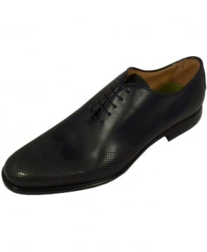 Oliver Sweeney Navy Oxford Lace Up Colledara Shoe