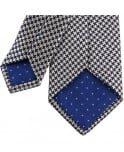 Paul Smith Navy Patterned APXA/552M/Z48 8cm Blade Tie