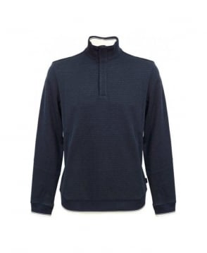 Hugo Boss Navy Piceno 50259098 Regular Fit Sweatshirt