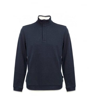 Navy Piceno 50259098 Regular Fit Sweatshirt