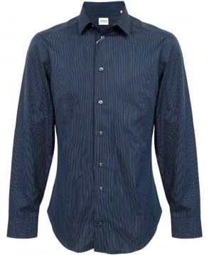 Armani Navy Pin Stripe NCC46 Shirt