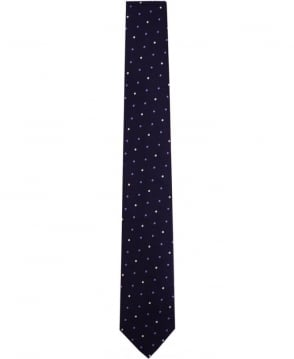 Paul Smith - Accessories Navy Polka Dot ANXA-765L-Y48 6cm Tie
