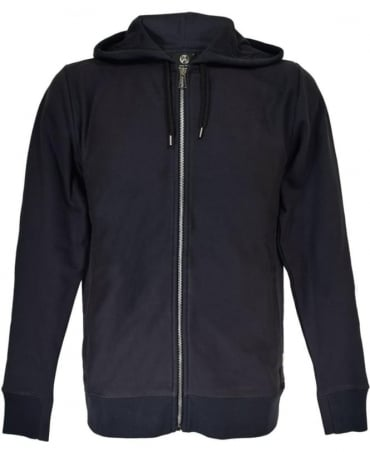 PS By Paul Smith Navy PSXD-360R-526 Full Zip Hoodie