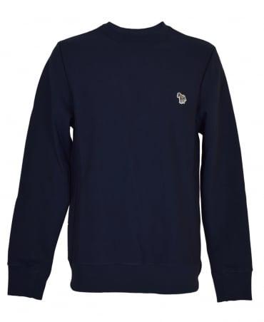 PS By Paul Smith Navy PTXD/027R/933Z Zebra Logo Sweatshirt