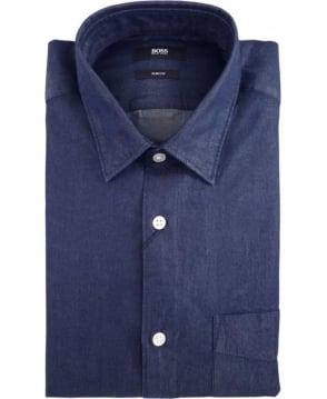 Hugo Boss Navy Reid_P 50313678 Jeans Shirt