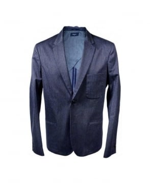 Paul Smith - Jeans Navy Rever Jacket
