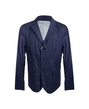 Navy Reversible 3 Button Jacket