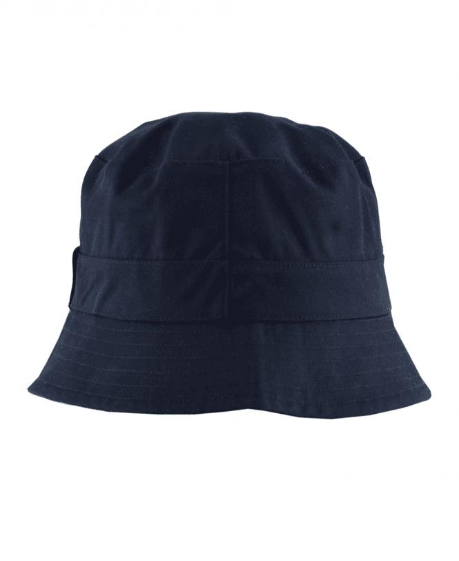9a147d0970f Aquascutum Navy Reversible Bucket Hat - Hats from Jonathan Trumbull UK